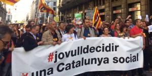 CCOO de Catalunya: una actuació compromesa i coherent en la defensa dels drets socials i nacionals